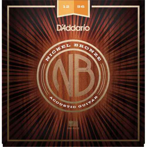 D´addario NB1256 Light Top  Medium Bottom [12 56]